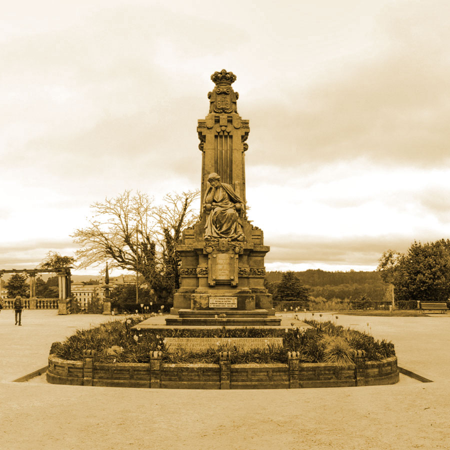 Huellas de la vida de Rosalía en Compostela